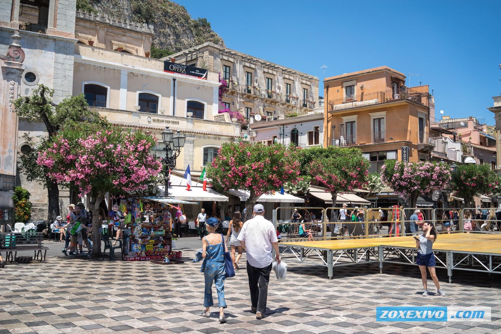 Foto mare sicilia taormina